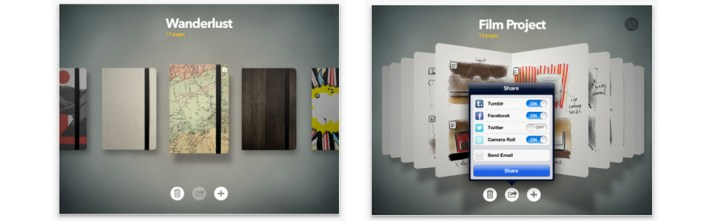 Paper, by Fifty Three | Notebooks and Social Sharing