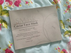 SMask Caviar Face Mask Luxury Skincare