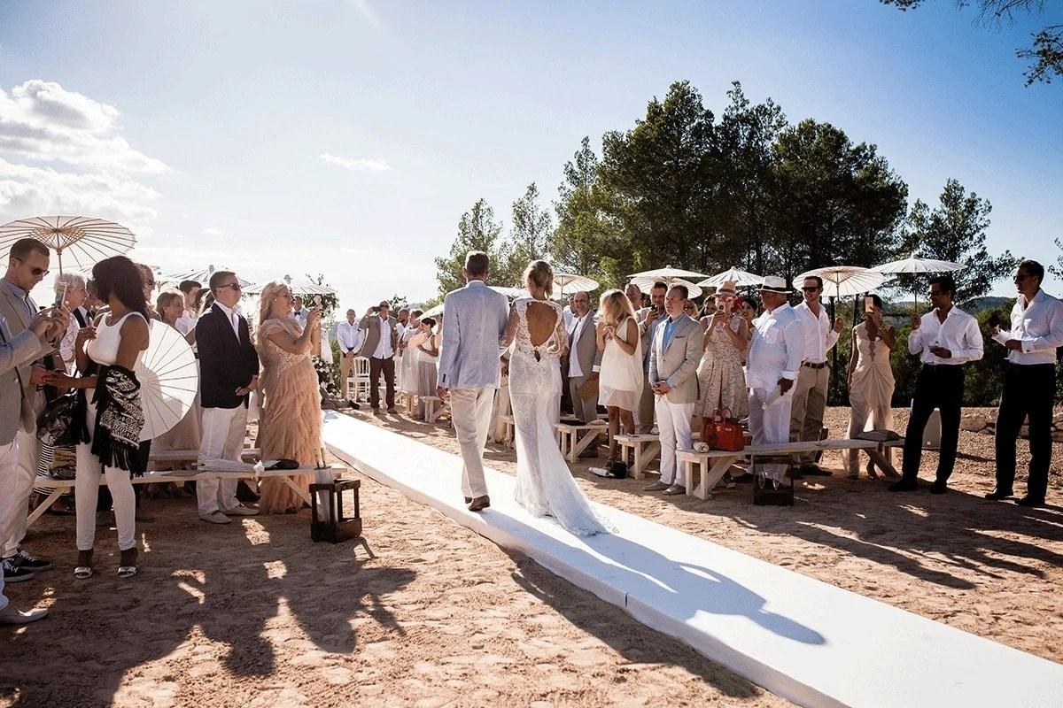 Trouwen op Ibiza een romantisch feestje
