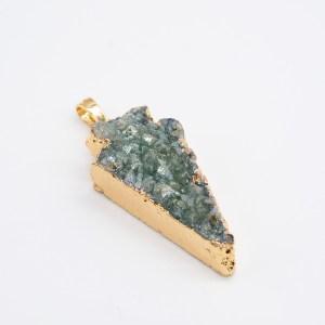 Groene agaat hanger kopen