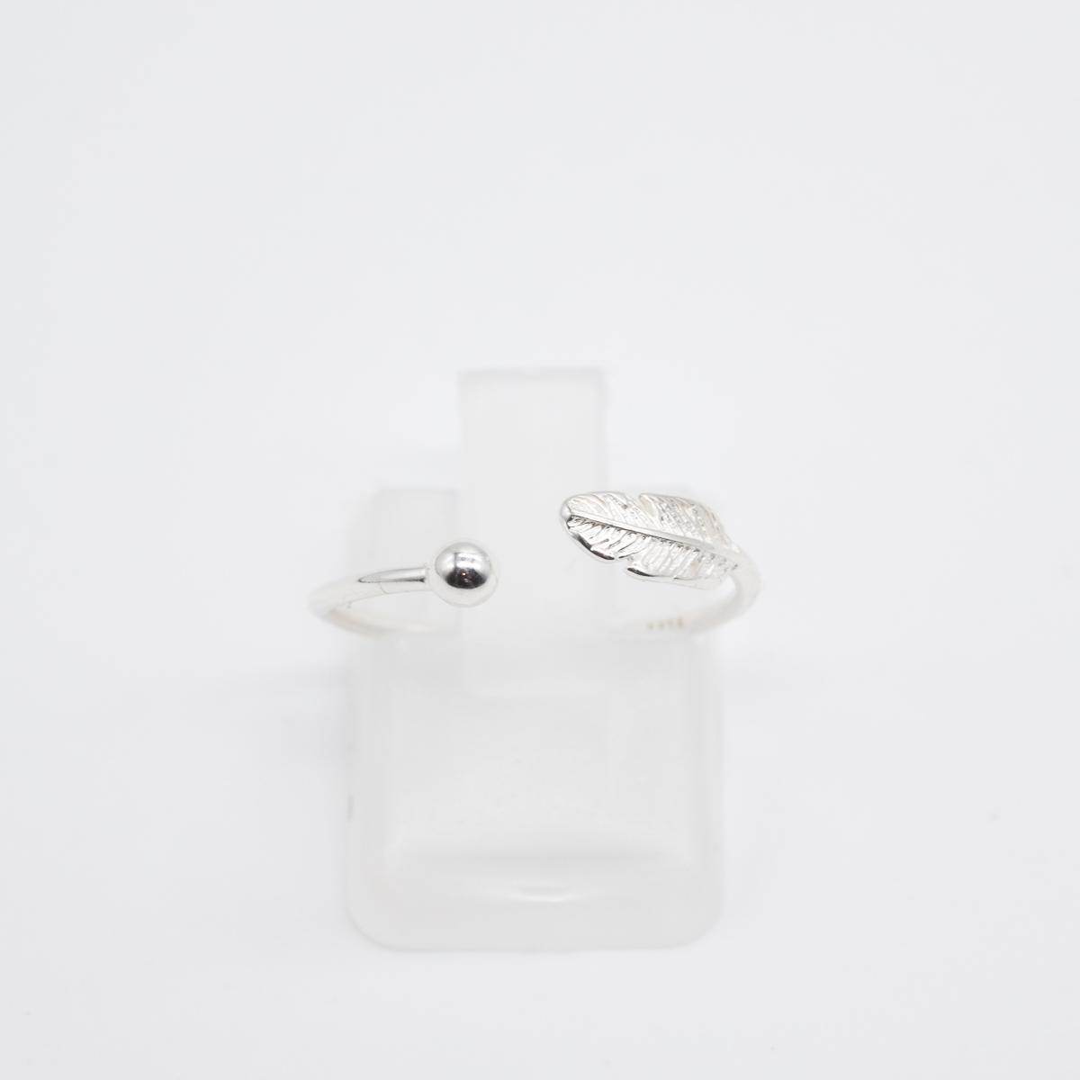 RNG-001 zilver pijl bohemian ring