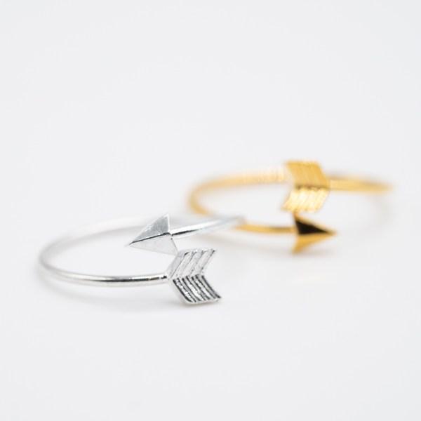 RNG-004 boho ring goud zilver metaal