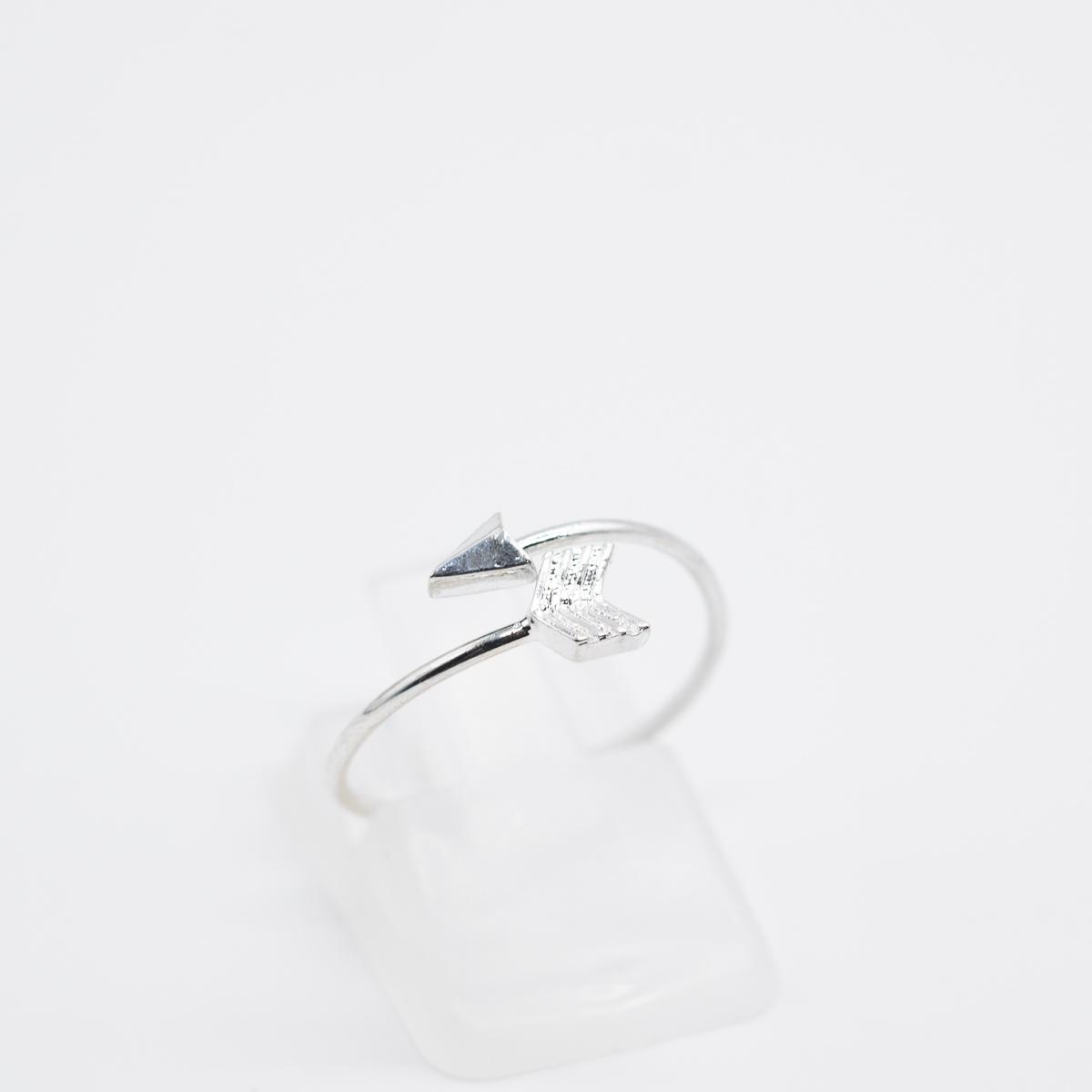 RNG-004 zilver bohemian ring pijl