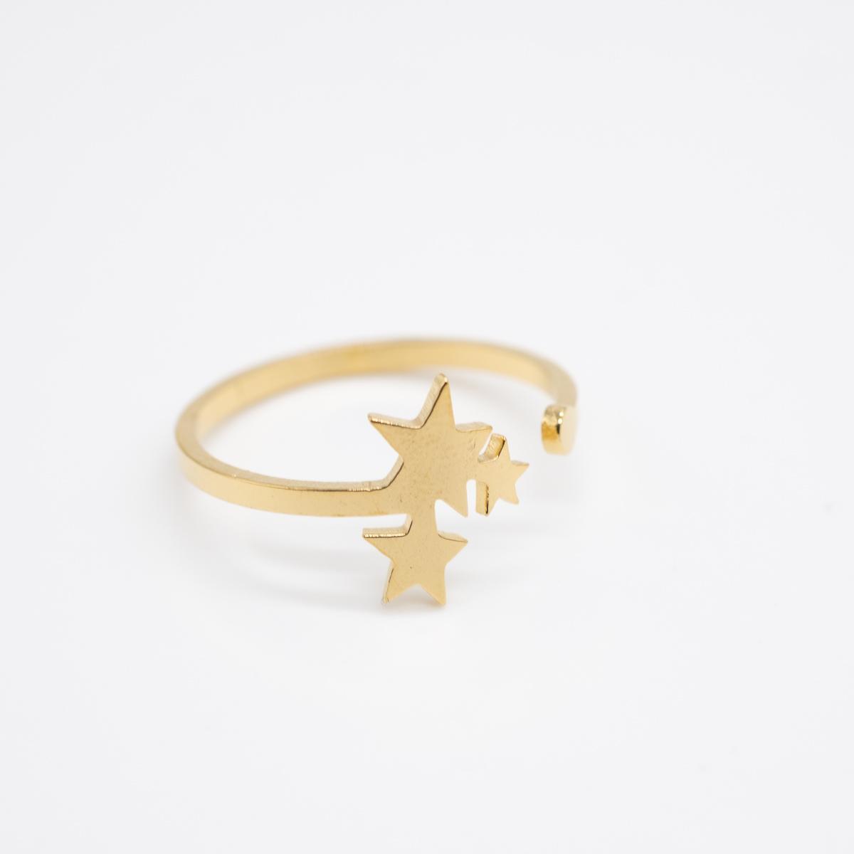 RNG-011 gouden boho ring sterren