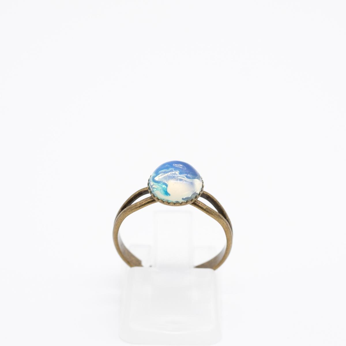 RNG-016 opaliet ring brons kopen