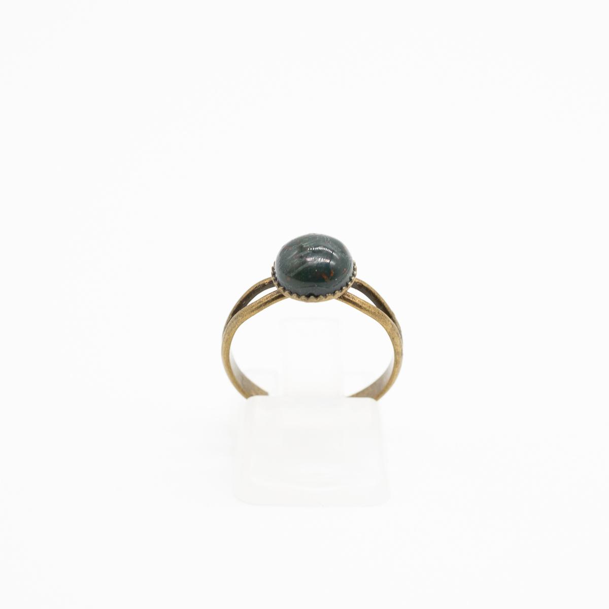 RNG-019 groene jaspis ring