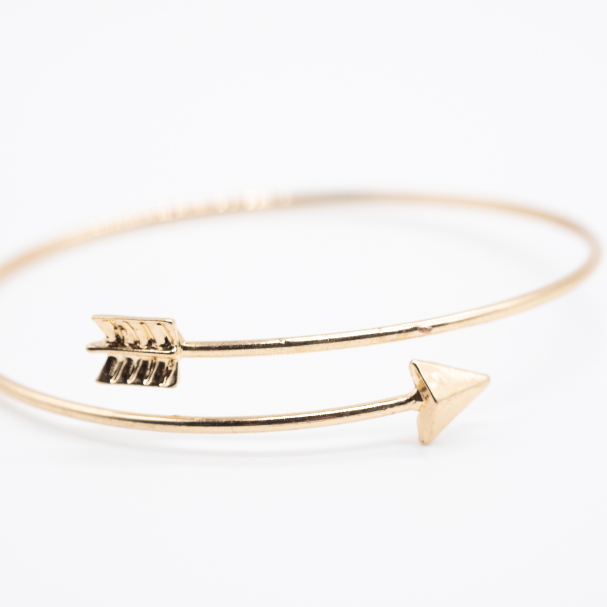 BCT-014 boho bohemian armband pijl goud metaal