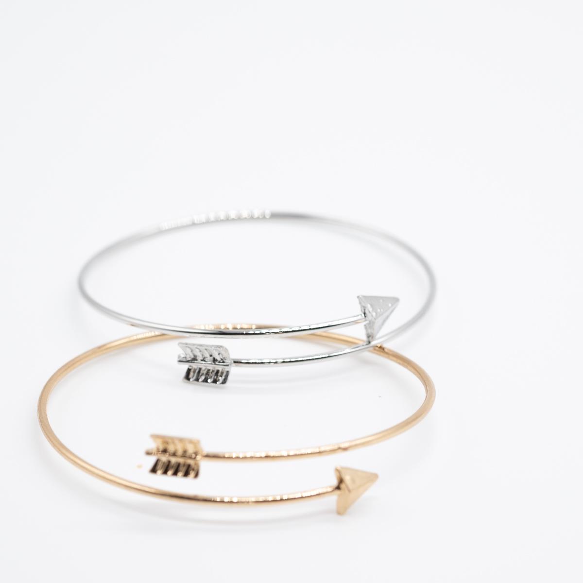 BCT-014 boho bohemian armband pijl goud zilver