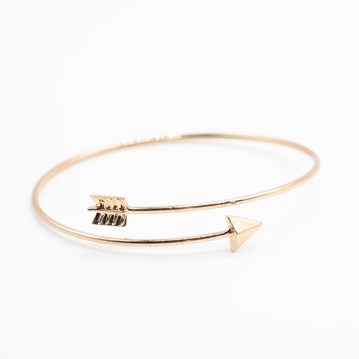 BCT-014 pijl armband goud boho