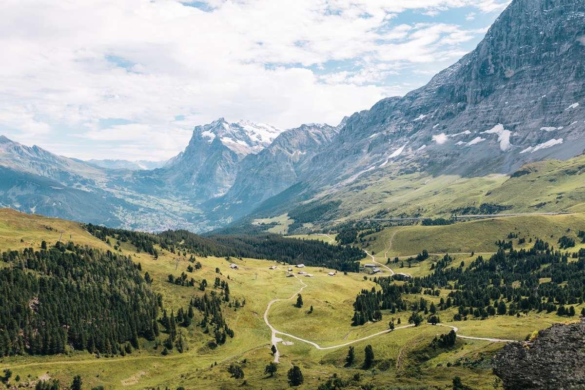 bergkristal wordt gevonden in zwitserland