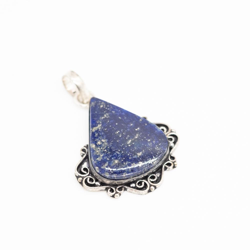 HGR-032 zilveren hanger lapis lazuli kopen