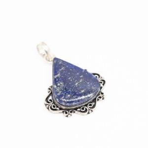 zilveren hanger met lapis lazuli kopen