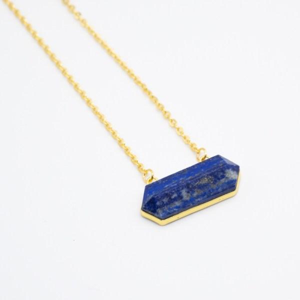 KET-050 handgemaakte ketting lapis lazuli