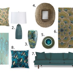 Peacock Inspired Living Room Tables For Ideas Girls Of T O
