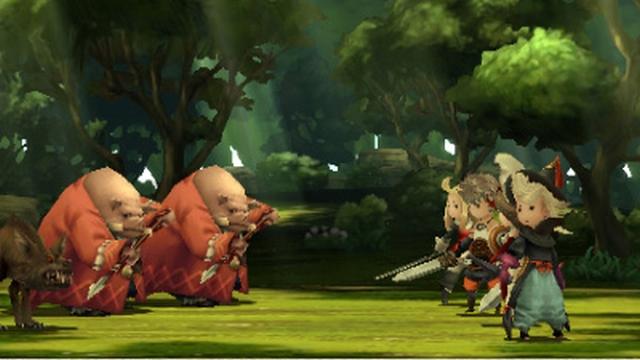 Bravely Defautl Screenshot Combat