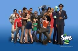 The Sims 2 Keyart © EA