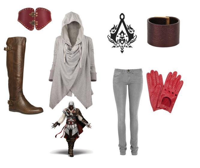 Ezio Inspired Outfit by haylie-tardis on Polyvore