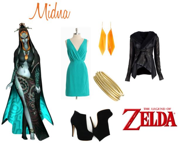 Midna inspired outfit by elocinecko on Polyvore