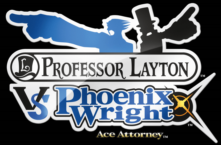 Professor Layton Vs. Phoenix Wright Logo