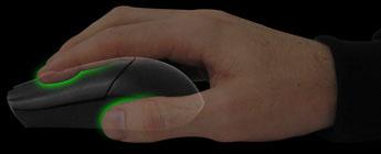 Mouse fingertip grip; razerzone.com