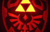 Hylian shield pumpkin by johwee.deviantart.com