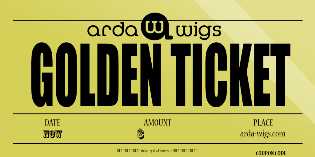 Arda Wigs Gift Certificate