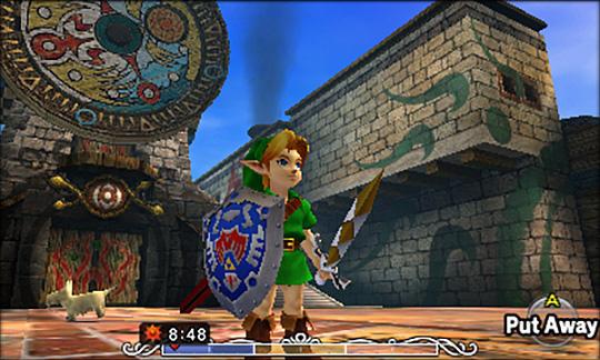 Majora's Mask 3D Screen Shot