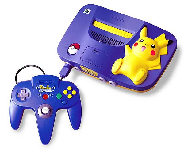 Limited Edition Pikachu Nintendo 64 (via NCSX)