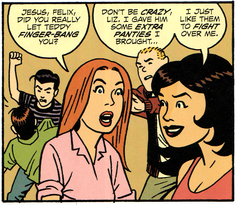 Criminal last of the Inncocent archie panel