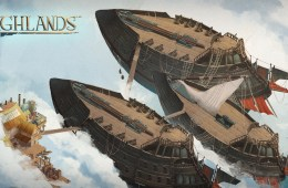 Enemy Ships in Highlands - Image by Burrito Studio