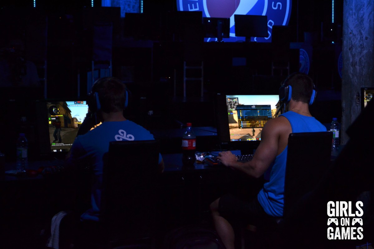 Cloud9 in the Guys' ESWC 2015 Grand Finals