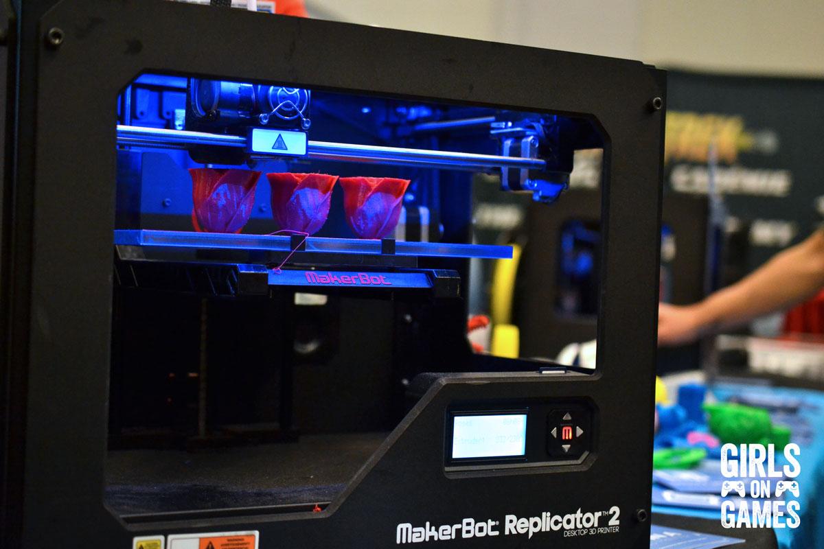 3D printer at Montreal Comiccon 2015