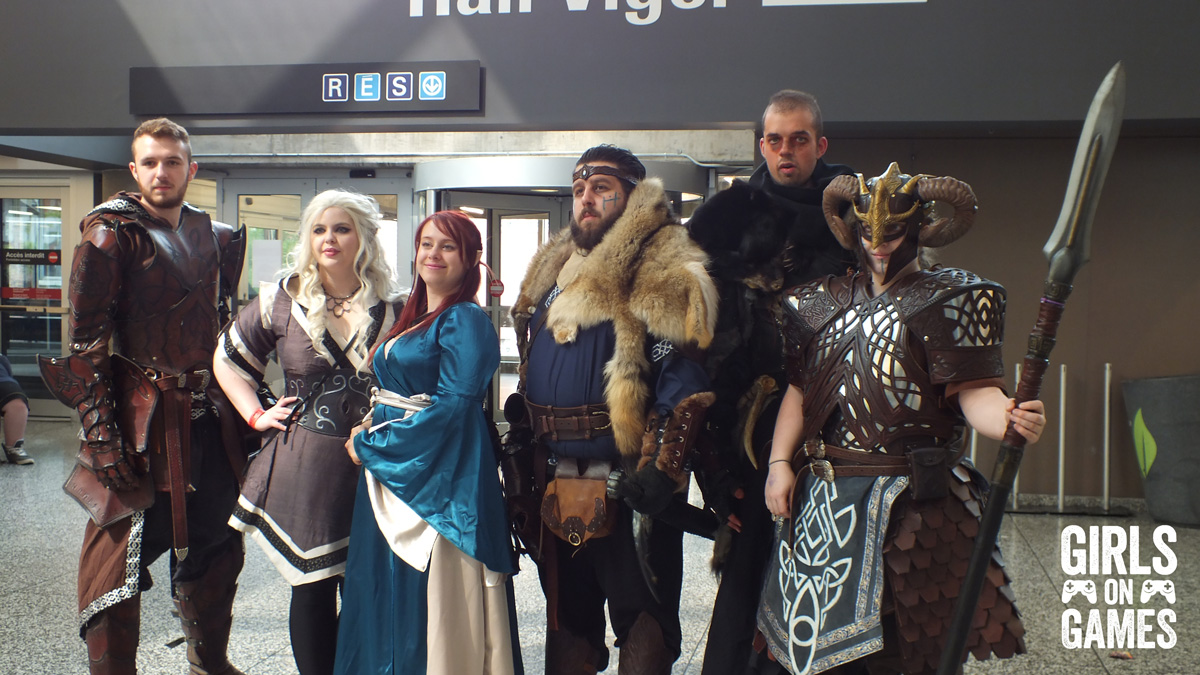 Game of Thrones cosplay at Montreal Comiccon 2015. Photo © Simon Marcoux / Girls on Games