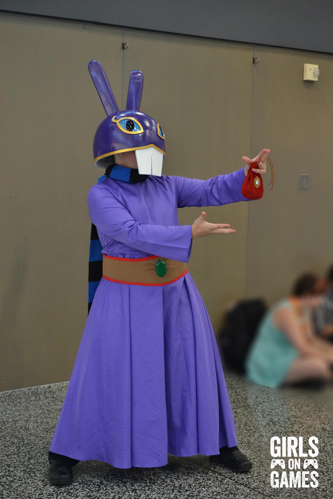 Ravio (The Legend of Zelda) cosplay at Otakuthon 2015.