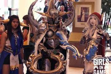 World of Warcraft cosplay at Fan Expo 2015.
