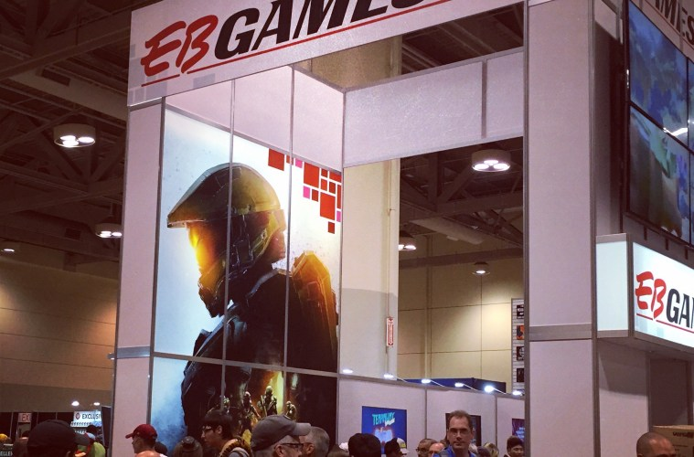 EB Games Booth Fan Expo Canada 2015 - Image by Catherine Dumont