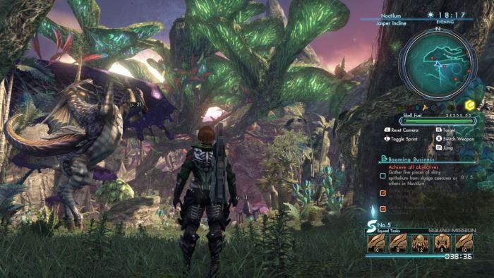 Lush jungles of Noctilum (captured from Wii U)