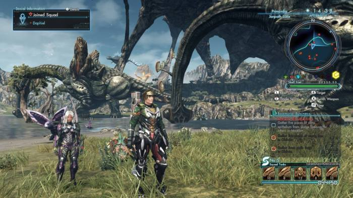 Not all massive beast are hostile (Captured from Wii U)