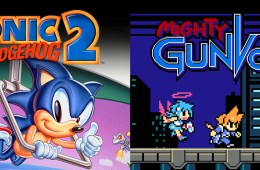 Sonic the Hedgehog 2 & Mighty Gunvolt