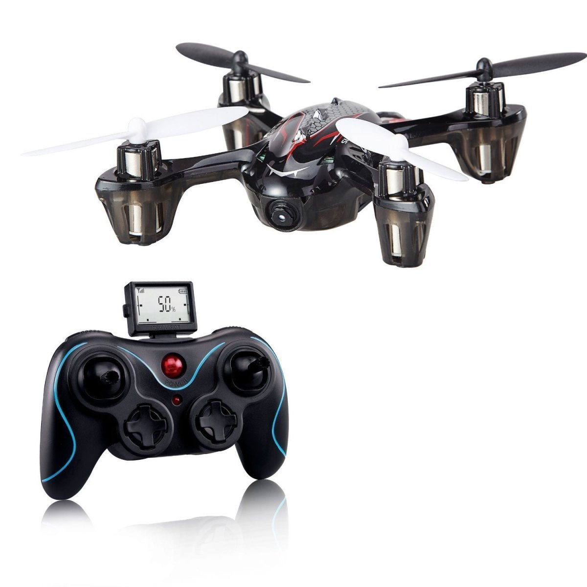 Holy Stone Mini RC Drone with 2MP Camera, 6-Axis Gyro 2.4 GHz with 1 Bonus Battery