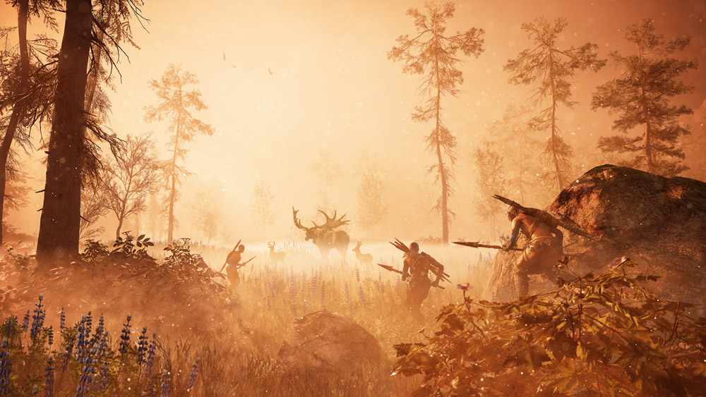 Hunting Elk in Far Cry Primal