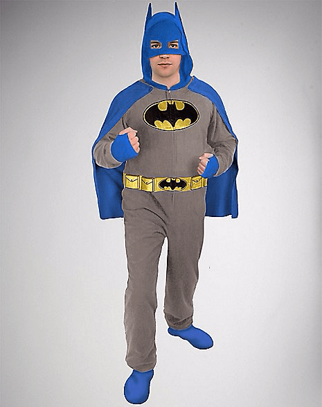 Batman Hooded & Caped Adult Onesie