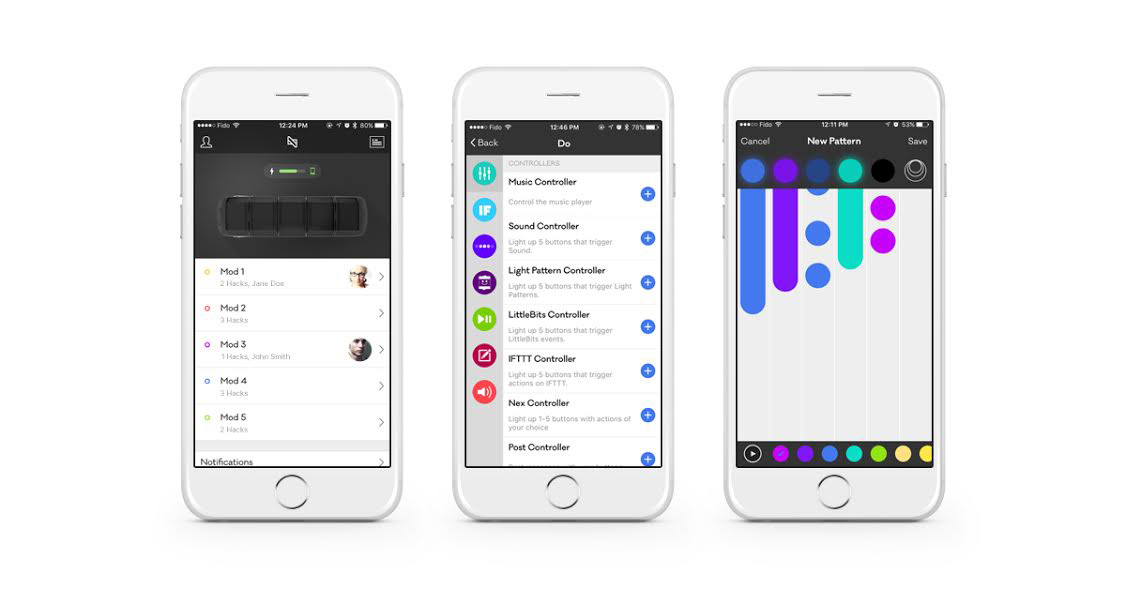 The Nex Band App. Image from Mighty Cast Inc.