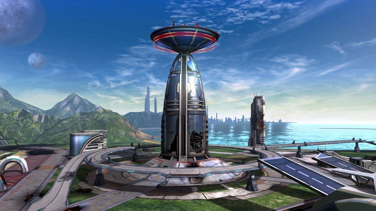 Star Fox Zero first level screenshot - from Nintendo