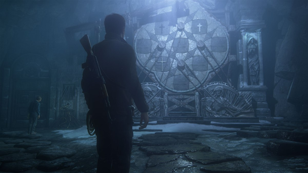 Cave Puzzle from Uncharted 4: A Thief's End. Image from Sony