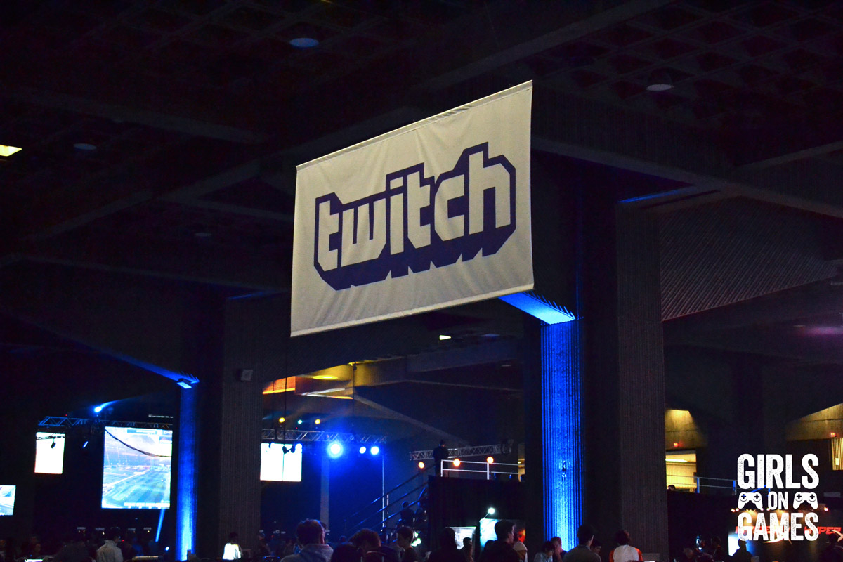 Twitch Zone at Dreamhack Montreal