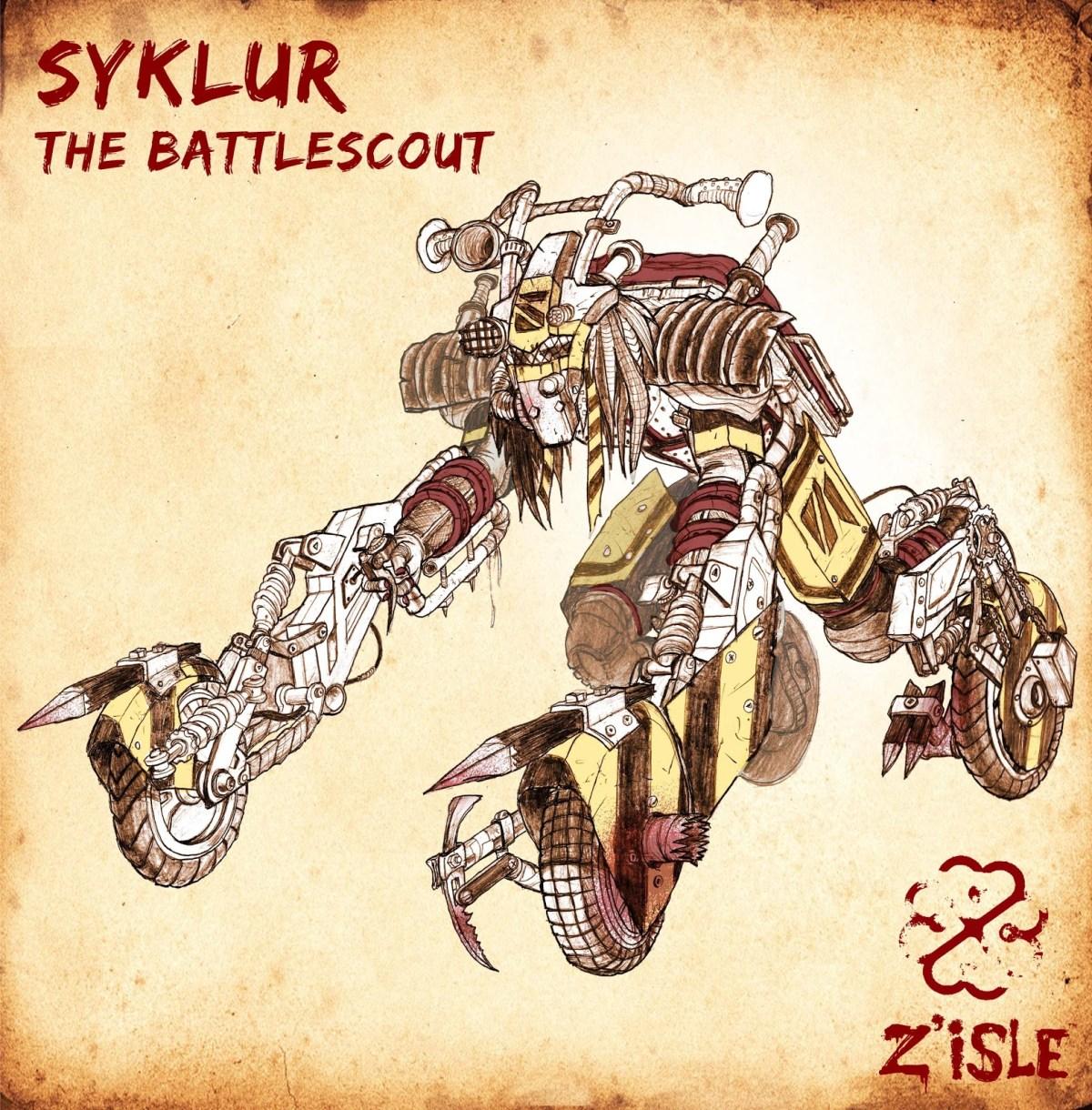 Sneak peek at the Battlescout!