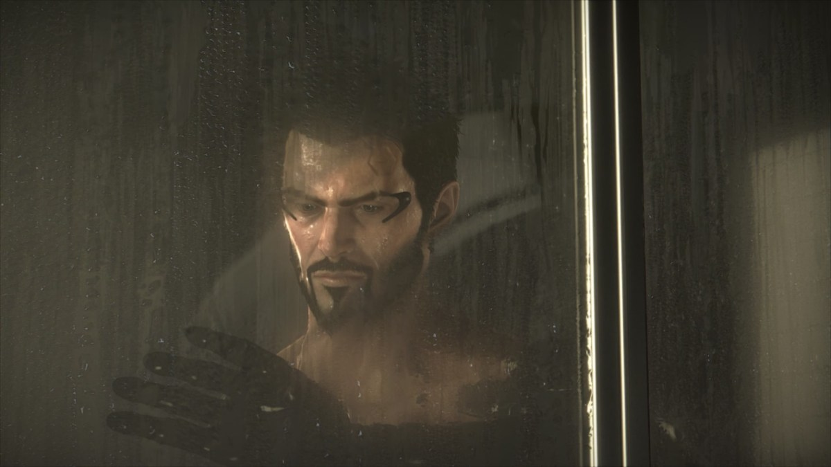 Adam takes a shower - girlsongames.ca