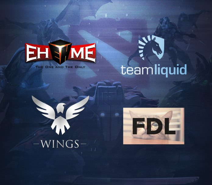 Final four teams for the Northern Arena BEAT Invitational Montreal 2016 are Wings Gaming, Team Liquid, EHOME, and qualifying team FDL