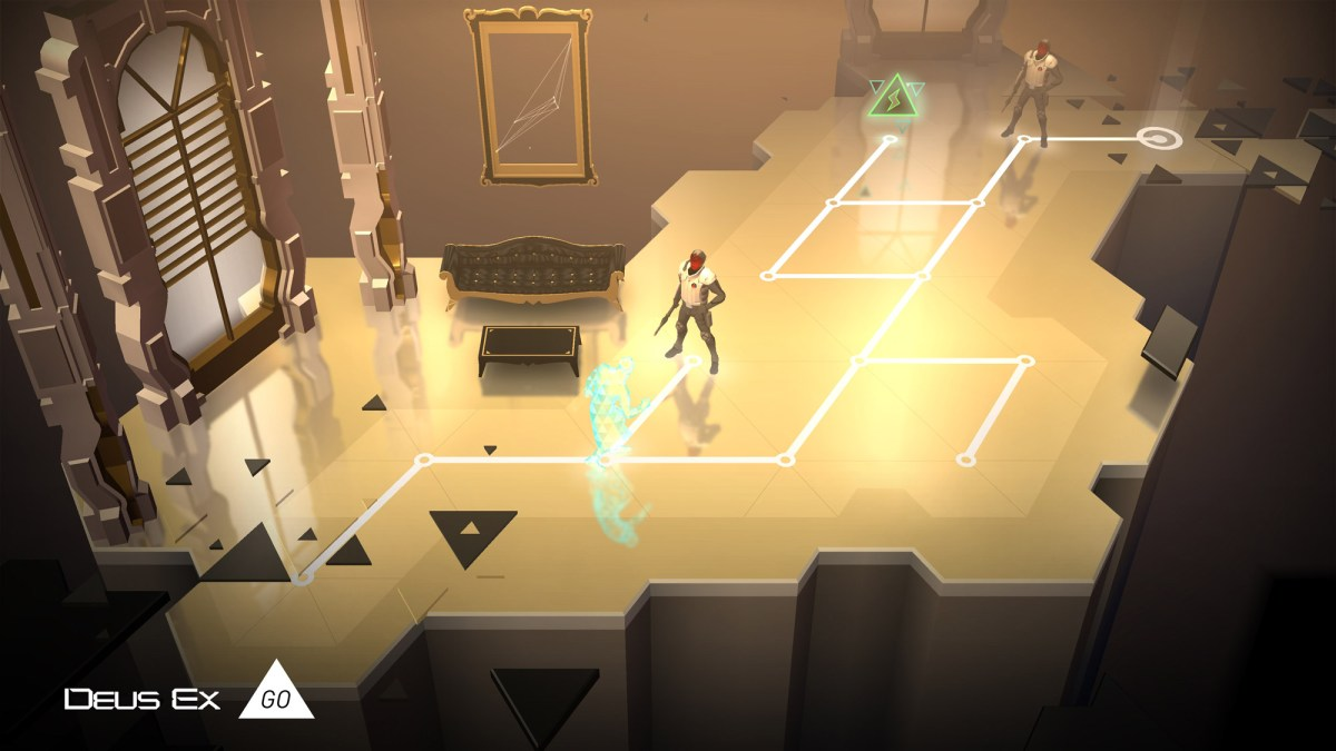 Deus Ex GO screenshot from Square Enix Montreal